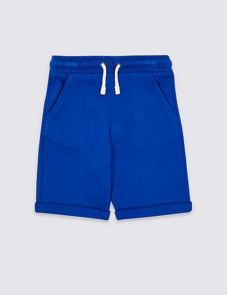 Cotton Rich Jersey Shorts (3-16 Years)