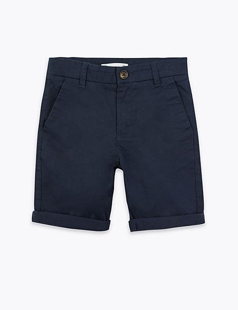 Cotton Rich Chino Shorts (6-16 Years)