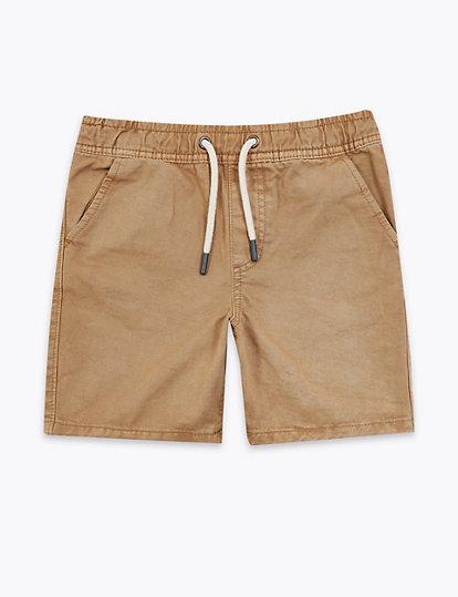 Short 100 % coton (du 6 au 16 ans)