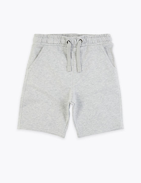 Cotton Rich Jersey Shorts (6-16 Years)