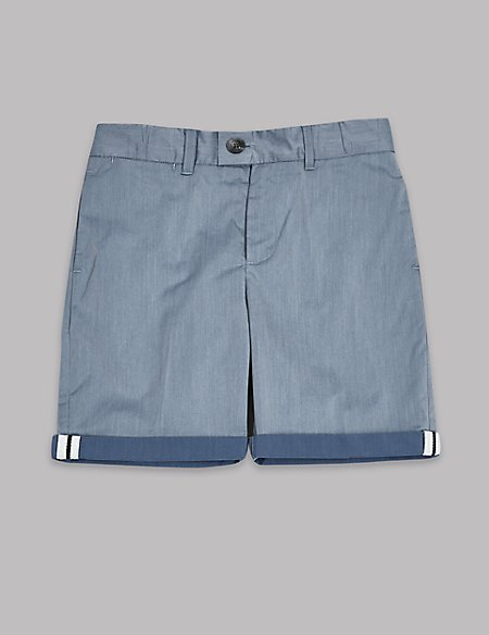 Double Face Chino Shorts (3-16 Years)