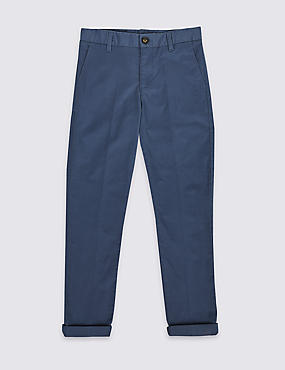 Cotton Chinos with Stretch (3-16 Years)