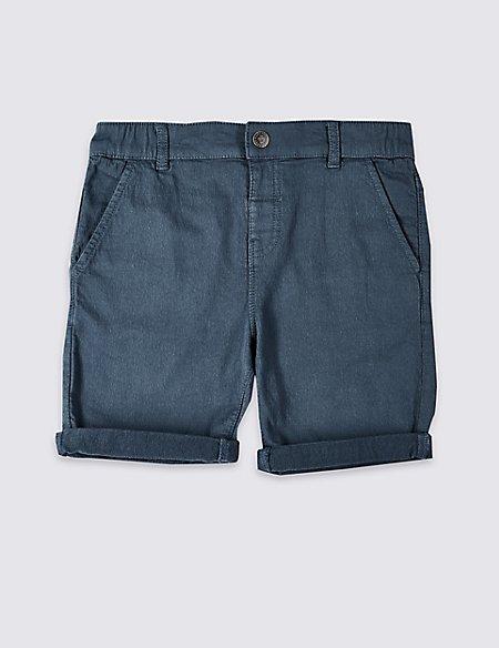 Easy Dressing Denim Shorts (3-16 Years)