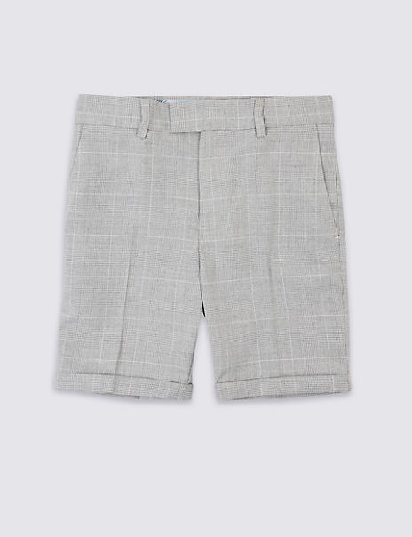 Checked Shorts (3-16 Years)