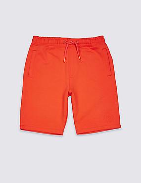 Cotton Rich Bermuda Shorts (3-16 Years)