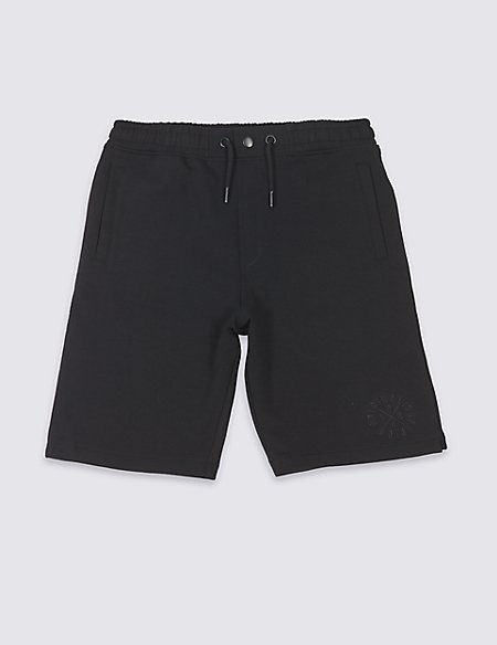 Cotton Rich Bermuda Shorts (3-16 Years)