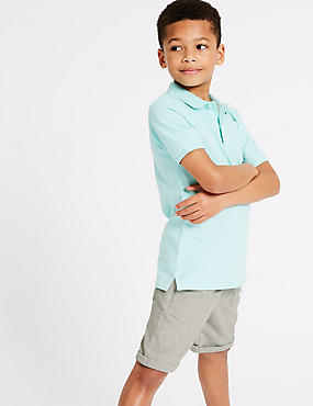 Cotton Rich Drawstring Shorts (3-16 Years)