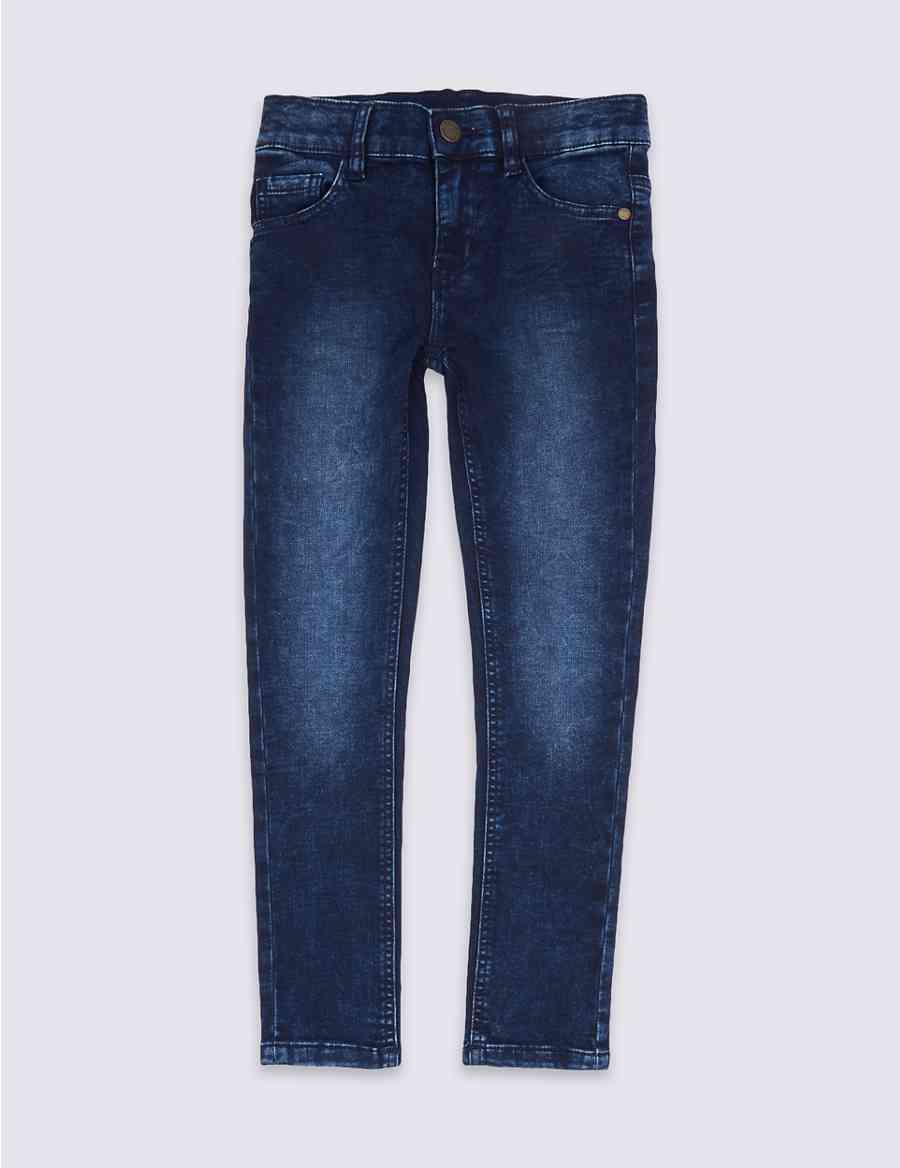 db25216bae5 Cotton Rich Skinny Fit Jeans (3-14 Years)