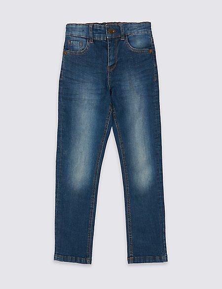 Straight Leg Jeans (3-14 Years)