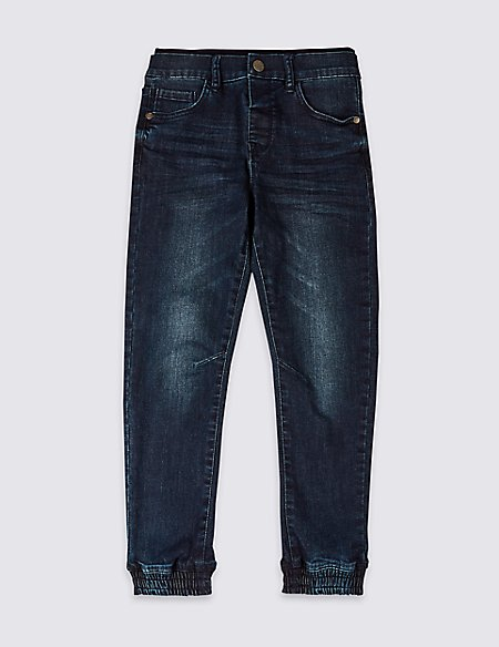Ribbed Jeans (3-16 Years)