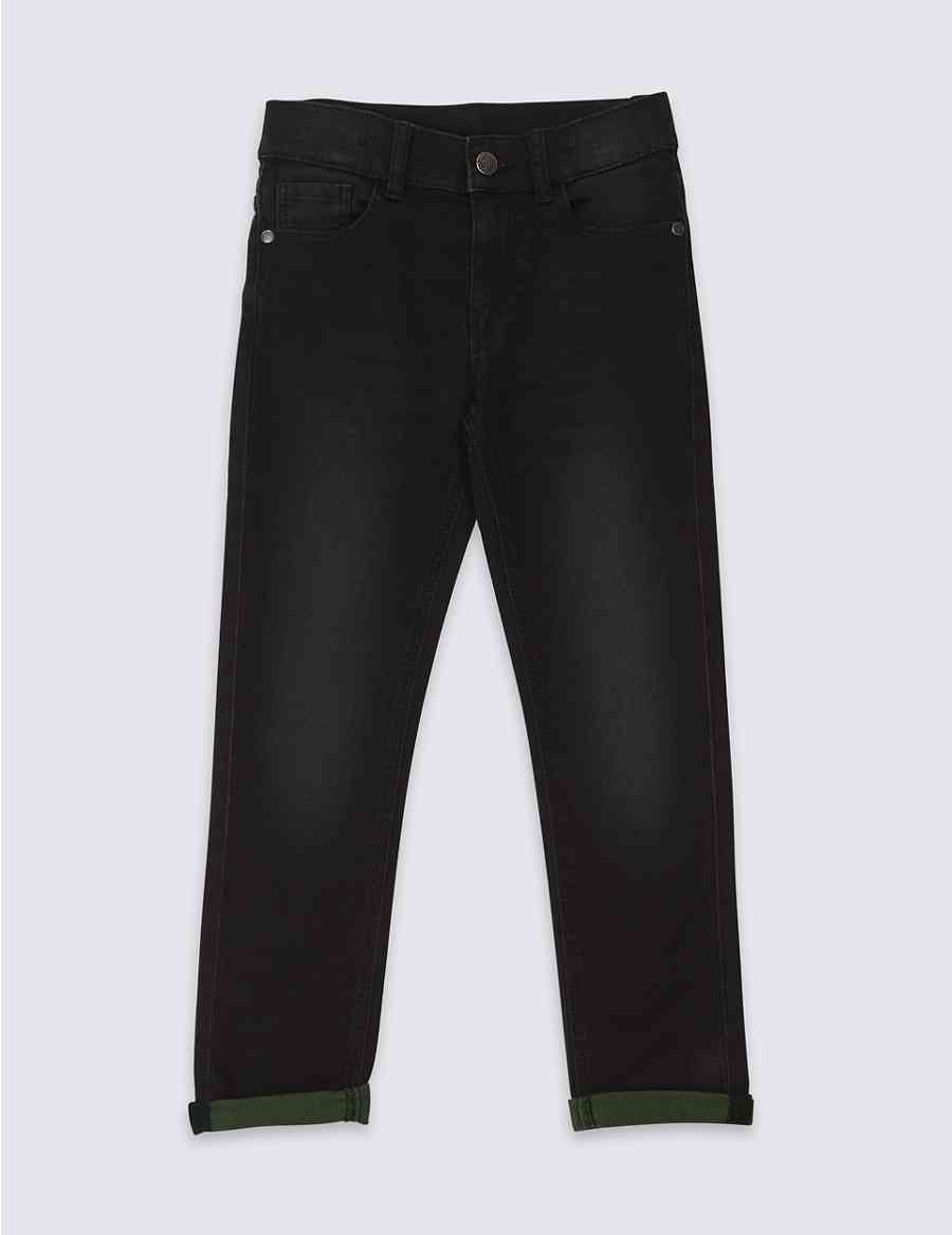 b8eeb529d42 Cotton Rich Skinny Fit Jeans (3-16 Years)