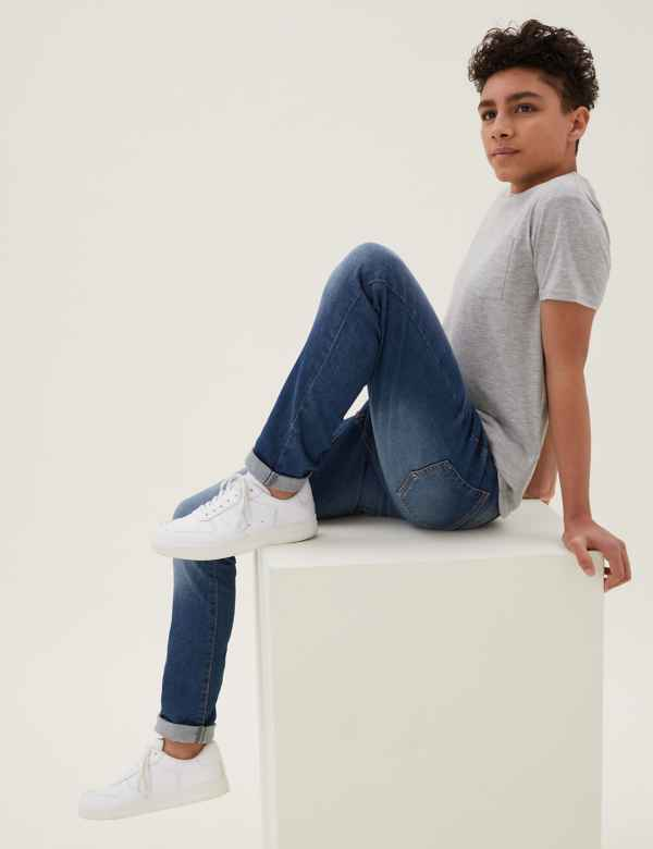 78ba783b0 Boys' Jeans | Skinny Jeans & Slim Fit Jeans for Boys | M&S