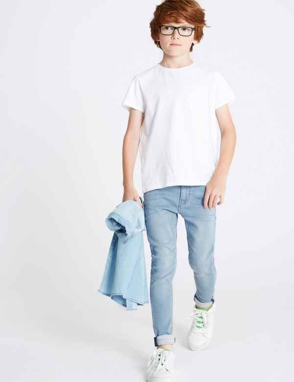 8e80ac0e All Boys Jeans   Denim & Cotton Stretch Jeans for Boys  M&S