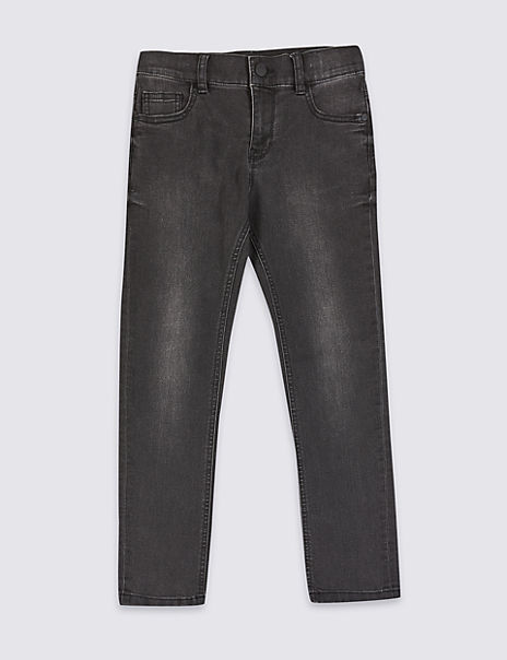 Regular Fit Cotton with Stretch Jeans (3-16 Years)