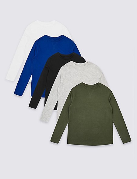 5 Pack Tops (3-16 Years)