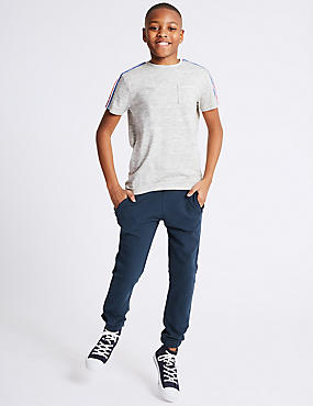 Pure Cotton Joggers (3-16 Years)