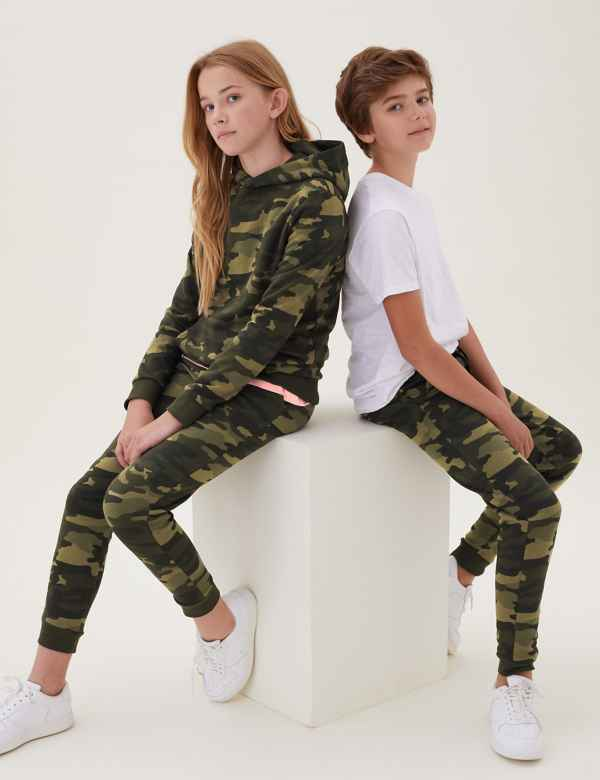 M /&S Boys Jogging Bottoms  Navvy Open Hem 9-10 Yrs Brand New