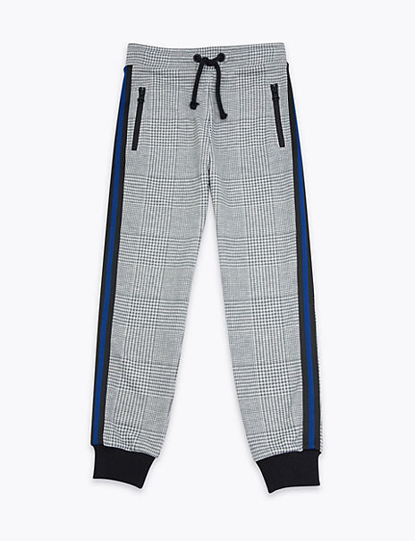 Checked Joggers (3-16 Years)