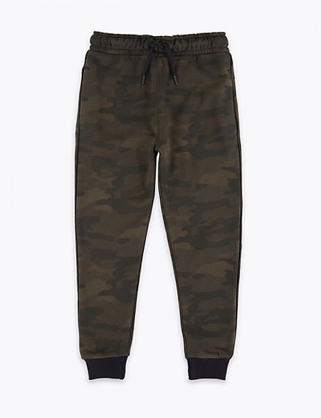 Camouflage Print Joggers (3-16 Years)