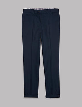 Pure Cotton Chinos (3-16 Years)