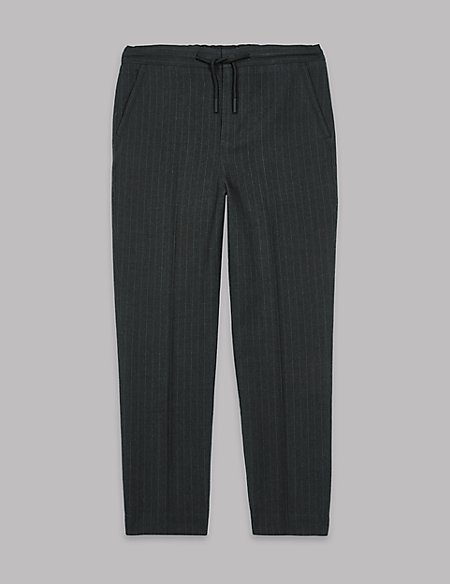 Pinstripe Joggers (3-16 Years)