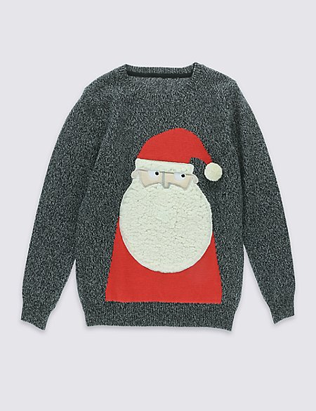 Santa Jumper with Sound (5-14 Years)