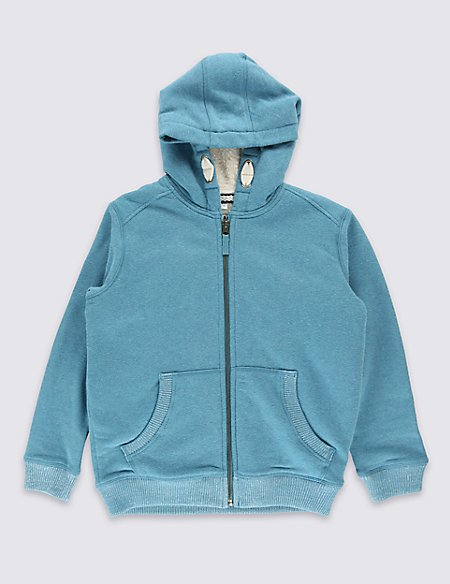 Long Sleeve Hooded Sweatshirt (5-14 Years)