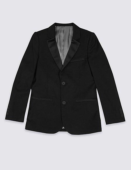 2 Button Tuxedo Blazer (3-14 Years)