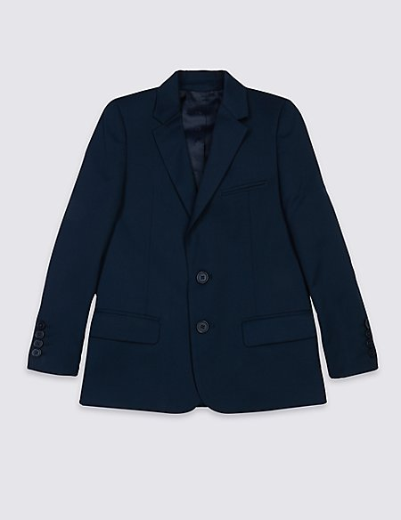 Notch Lapel Blazer (3-14 Years)