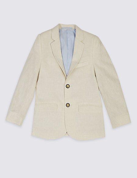 Cotton Blend Blazer (3-14 Years)