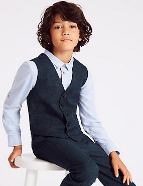 Checked Waistcoat (3-16 Years)
