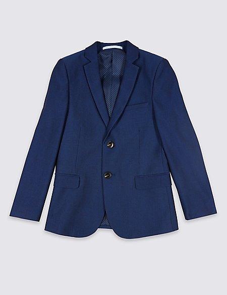 Notch Lapel 2 Button Jacket (3-16 Years)