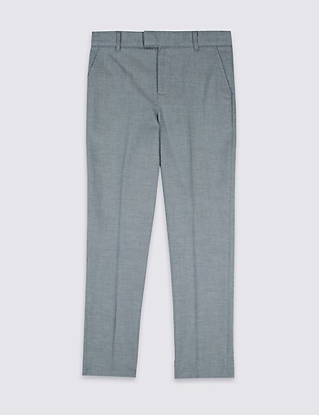 Pure Cotton Trousers (3-16 Years)