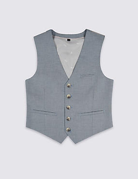 Pure Cotton Waistcoat (3-16 Years)
