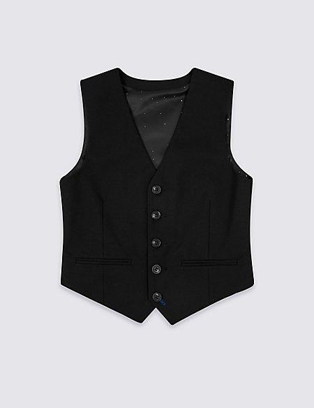 Black Waistcoat (3-16 Years)