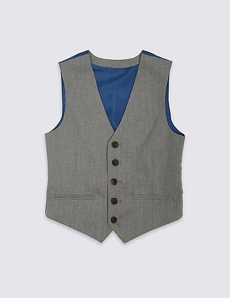 Textured Waistcoat (3-16 Years)