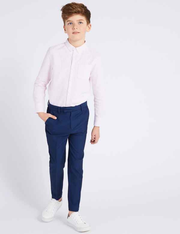 a96f83df3e0c Blue Suit Trousers (3-16 Years)