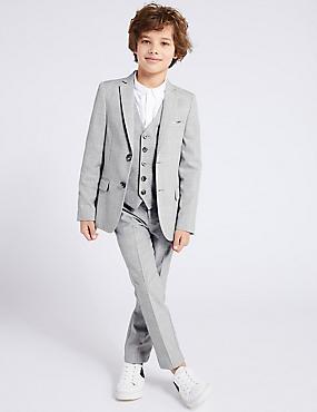 535cdcb7a Pantalón de traje de cuadros (3-16 nbsp ...