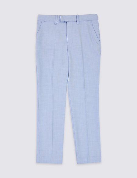 Blue Suit Trousers (3-16 Years)
