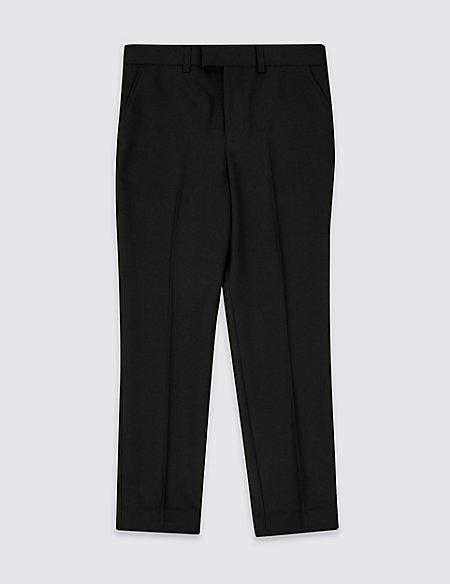 Black Suit Trousers (3-16 Years)