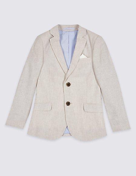 Cotton Blend Blazer (3-16 Years)