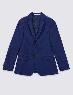 2 Button Notch Lapel Jacket (3-16 Yrs)