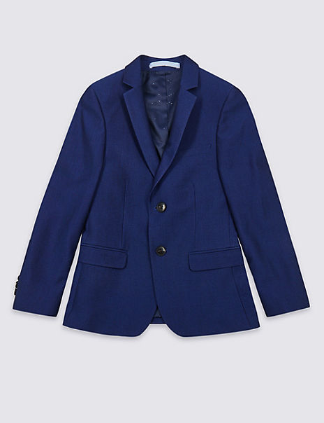2 Button Notch Lapel Jacket (3-16 Years)