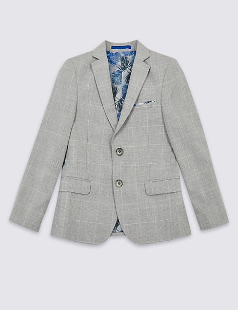 Checked Jacket (3-16 Years)