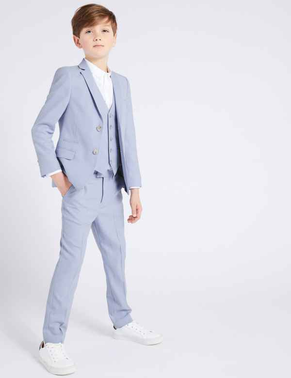 d6b018599 Textured Suit Jacket (3-16 Years)