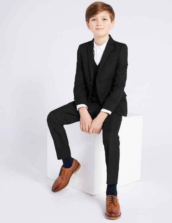 7e4ce642ba2a9 Black Suit Jacket (3-10 Years)