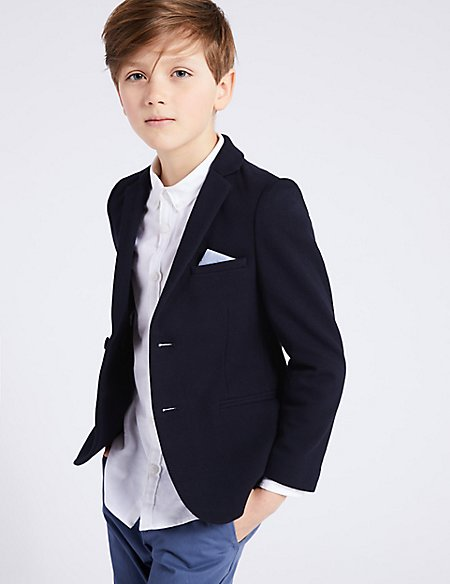 Cotton Rich Jacket (3-16 Years)
