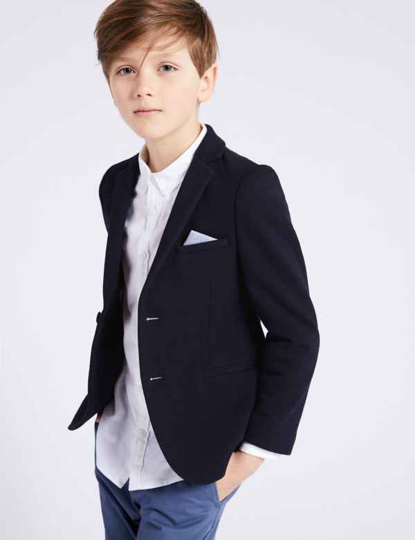 c6f5f1333e37 Pique Jacket ( 3-16 Years)