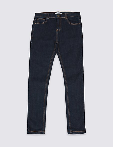 Skinny Leg Jeans with Stretch (3-14 Years)