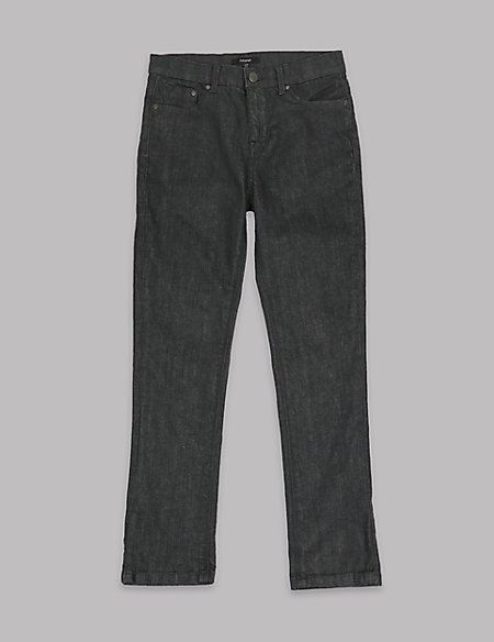 Cotton Slim Fit Jeans with Stretch (5-14 Years)